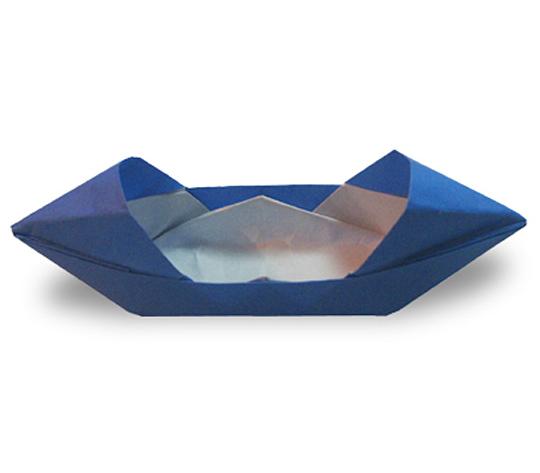 オリカタ公式さんによる【伝承】モーターボートの折り紙
