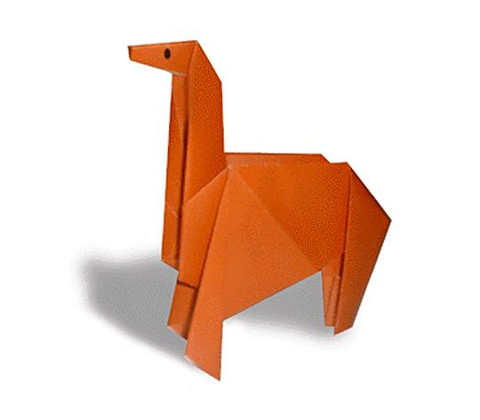 おりがみくらぶ(新宮文明)さんによるうまの折り紙