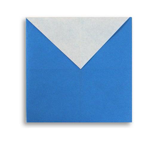 おりがみくらぶ(新宮文明)さんによるM(えむ)の折り紙