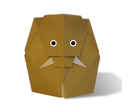 おりがみくらぶ(新宮文明)さんによるまんもすの折り紙