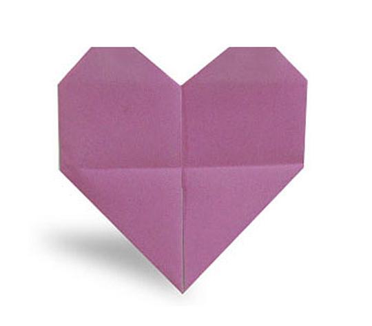 おりがみくらぶ(新宮文明)さんによるはーと どきどきの折り紙