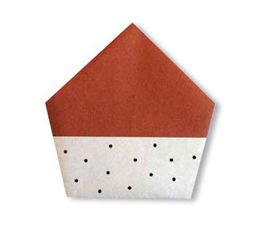 おりがみくらぶ(新宮文明)さんによるくりの折り紙