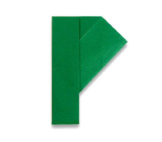 おりがみくらぶ(新宮文明)さんによるP(ぴー)の折り紙