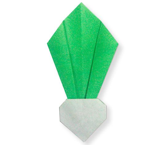 おりがみくらぶ(新宮文明)さんによるかぶの折り紙