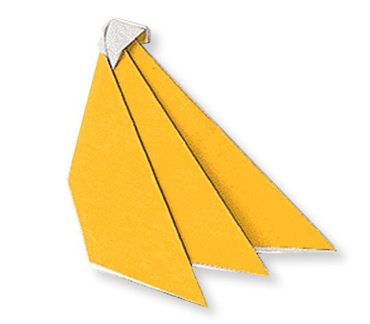 おりがみくらぶ(新宮文明)さんによるばななの折り紙