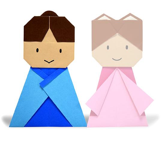 おりがみくらぶ(新宮文明)さんによるけんぎゅう2の折り紙
