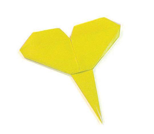 おりがみくらぶ(新宮文明)さんによるいちょうの折り紙