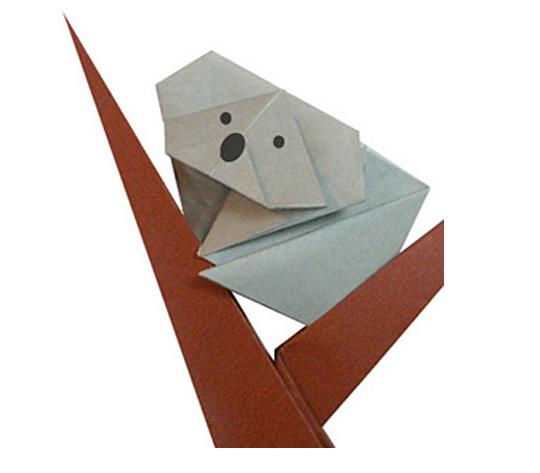 おりがみくらぶ(新宮文明)さんによるこあらの折り紙