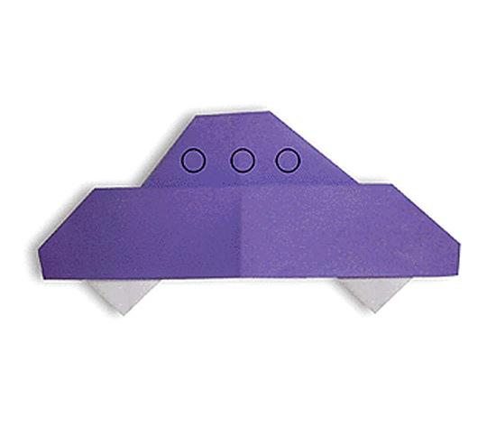 おりがみくらぶ(新宮文明)さんによるえんばんの折り紙