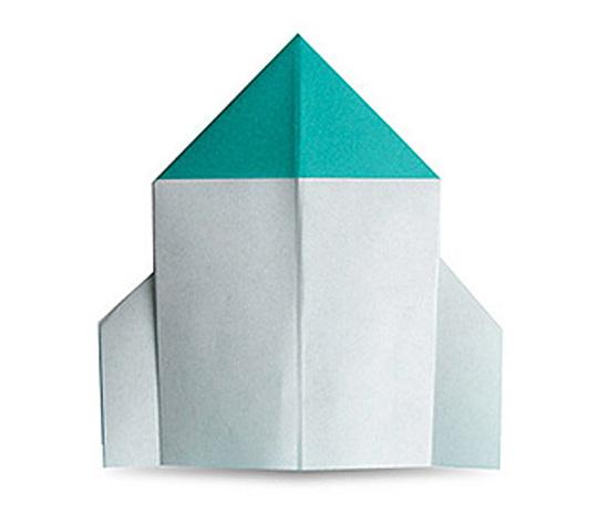 おりがみくらぶ(新宮文明)さんによるろけっとの折り紙