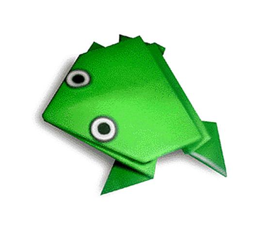 オリカタ公式さんによるぴょんかえるの折り紙