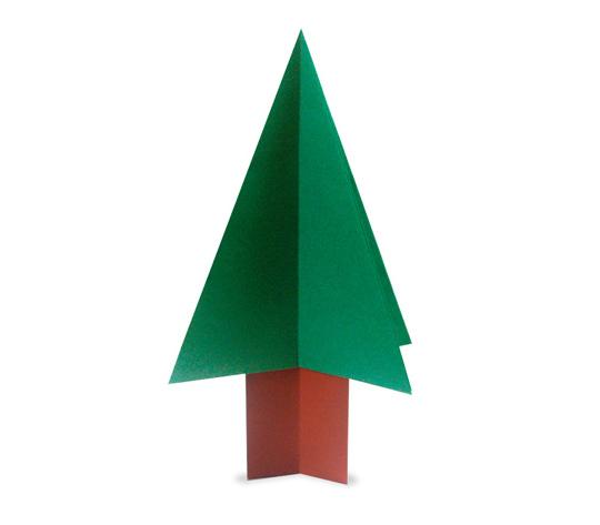 おりがみくらぶ(新宮文明)さんによるつりー2の折り紙
