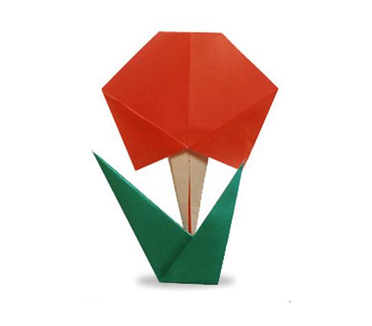 おりがみくらぶ(新宮文明)さんによるはなの折り紙