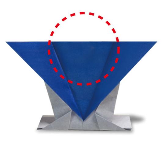 おりがみくらぶ(新宮文明)さんによるふくすけ2の折り紙
