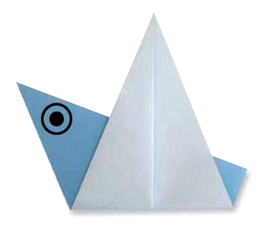 おりがみくらぶ(新宮文明)さんによるとりの折り紙