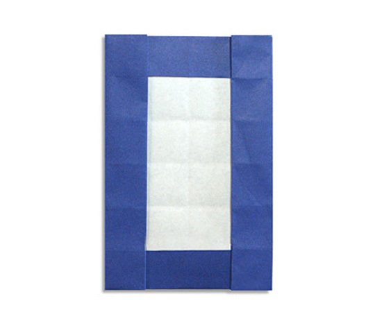 おりがみくらぶ(新宮文明)さんによる0(ぜろ)の折り紙