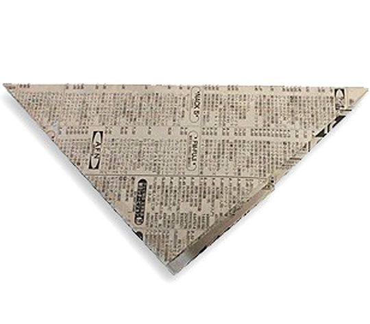 おりがみくらぶ(新宮文明)さんによるかみてっぽうの折り紙
