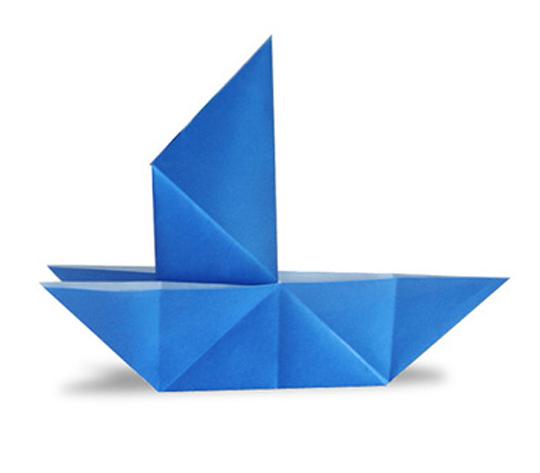 オリカタ公式さんによる【伝承】騙し船の折り紙