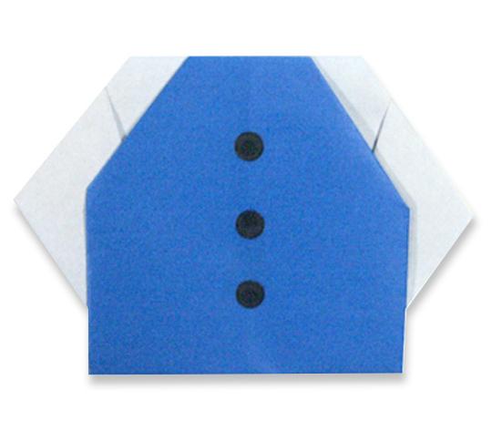 おりがみくらぶ(新宮文明)さんによるすたじゃんの折り紙