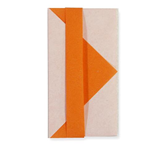 オリカタ公式さんによる《伝承》さいさい袋の折り紙