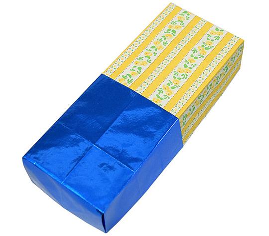おりがみくらぶ(新宮文明)さんによるほそながばこ2の折り紙