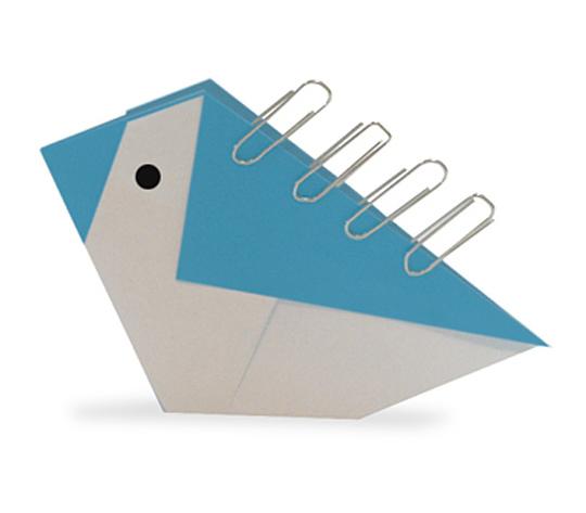おりがみくらぶ(新宮文明)さんによるとりのくりっぷたての折り紙