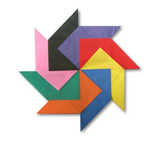おりがみくらぶ(新宮文明)さんによるぱたーん 7の折り紙