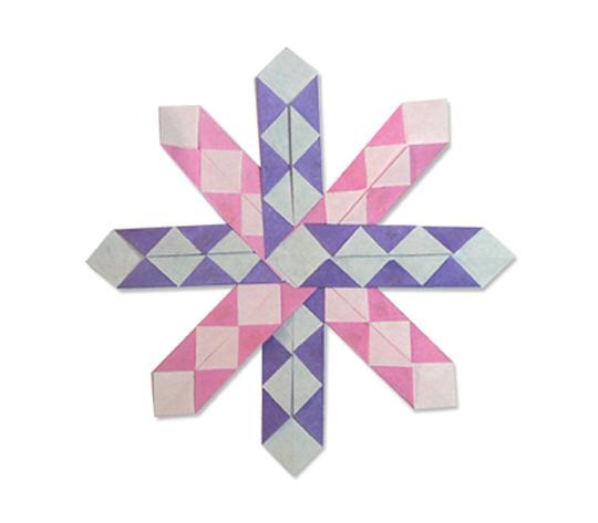 おりがみくらぶ(新宮文明)さんによるぱたーん 2の折り紙