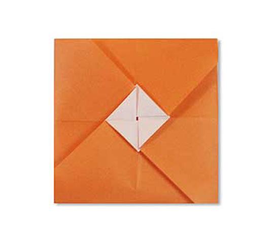 オリカタ公式さんによる《伝承》ぽち袋1の折り紙