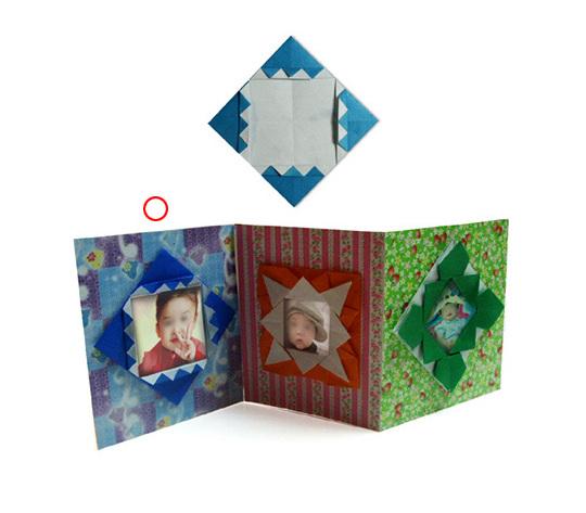 おりがみくらぶ(新宮文明)さんによるふぉとあるばむ1の折り紙