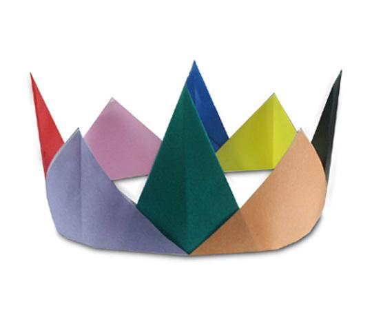 おりがみくらぶ(新宮文明)さんによるかんむり2の折り紙