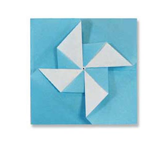 オリカタ公式さんによる《伝承》ぽち袋2の折り紙