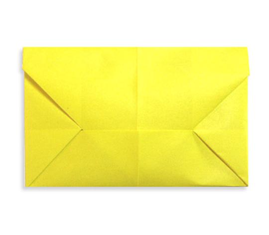 おりがみくらぶ(新宮文明)さんによるてがみの折り紙