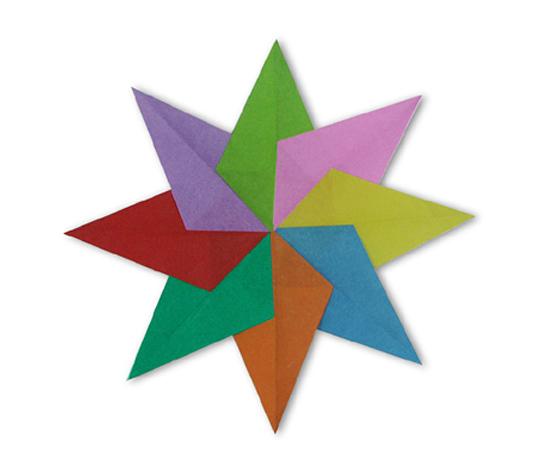おりがみくらぶ(新宮文明)さんによるぱたーん 10の折り紙