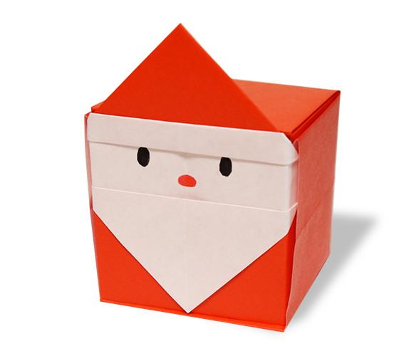 おりがみくらぶ(新宮文明)さんによるさんたぼっくすの折り紙