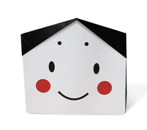 おりがみくらぶ(新宮文明)さんによるふくのまめいれの折り紙