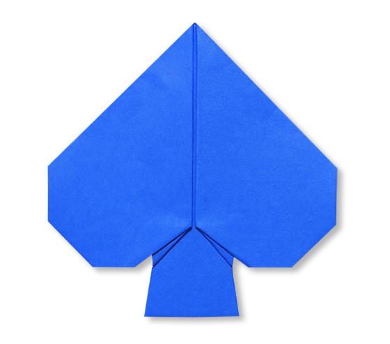 おりがみくらぶ(新宮文明)さんによるすぺーど(とらんぷ)の折り紙