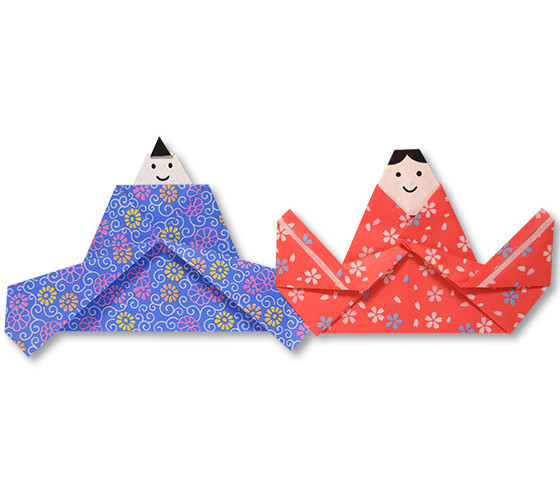 おりがみくらぶ(新宮文明)さんによるひなにんぎょう6の折り紙