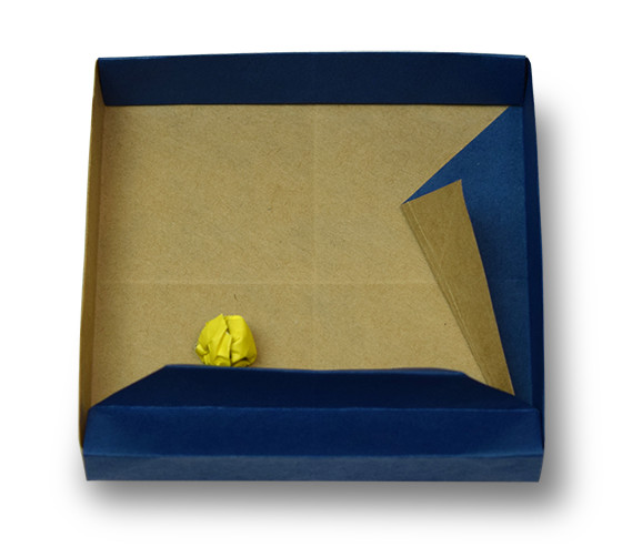 おりがみくらぶ(新宮文明)さんによるはこパチンコの折り紙