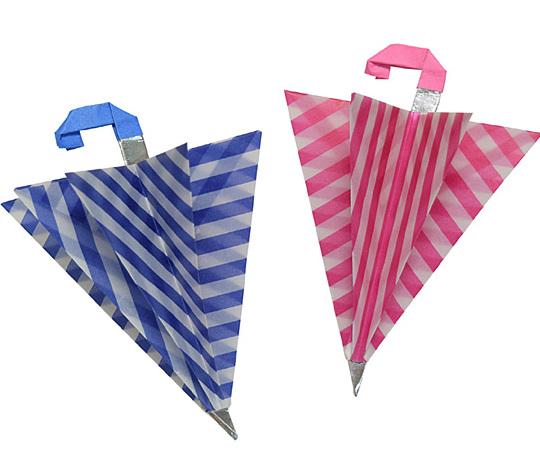 おりがみくらぶ(新宮文明)さんによるかさの折り紙
