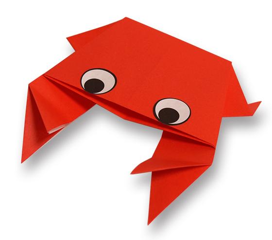 おりがみくらぶ(新宮文明)さんによるかに3の折り紙