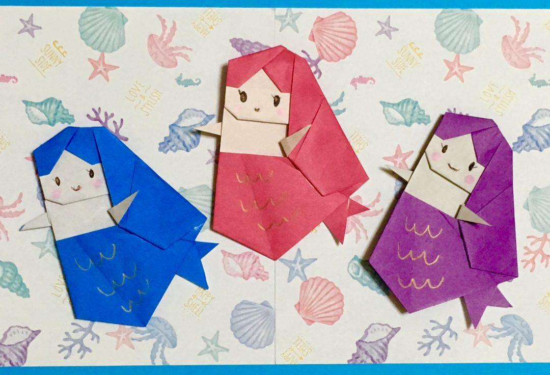 Oriya小町さんによるキューティ・マーメイドの折り紙