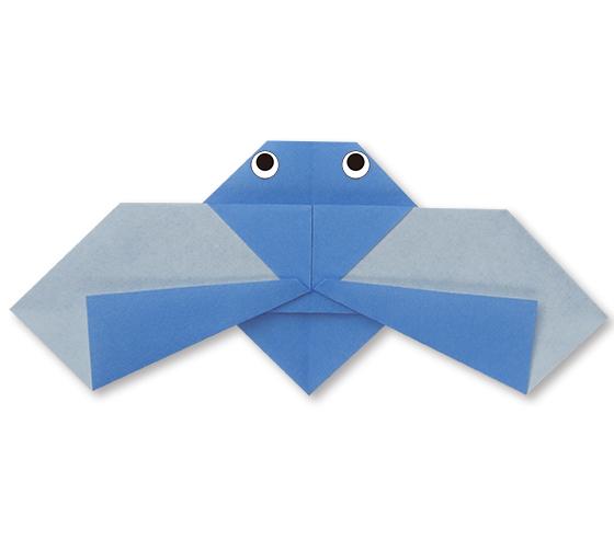 おりがみくらぶ(新宮文明)さんによるとぶせみの折り紙
