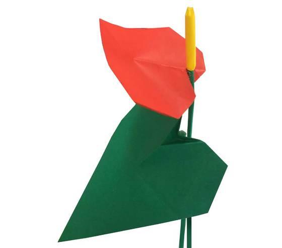 おりがみくらぶ(新宮文明)さんによるあんすりうむの折り紙