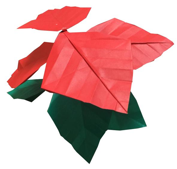 おりがみくらぶ(新宮文明)さんによるぽいんせちあ2の折り紙