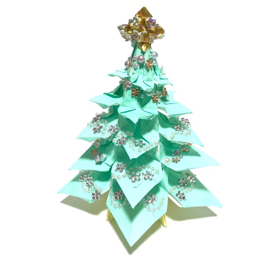 だ〜ちゃんさんによるツリー☆彡.。立体の折り紙
