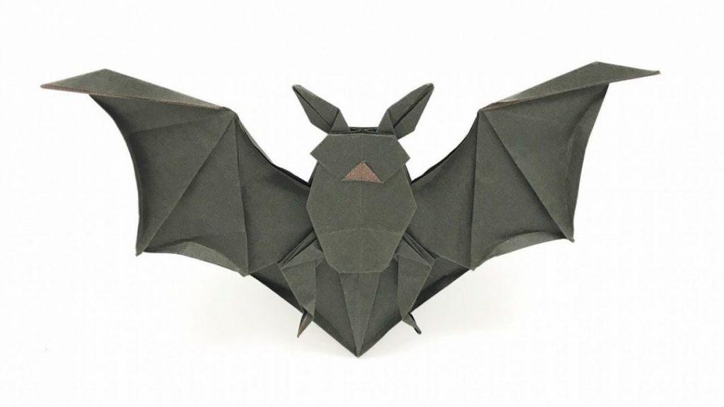さくBさんによるコウモリの折り紙