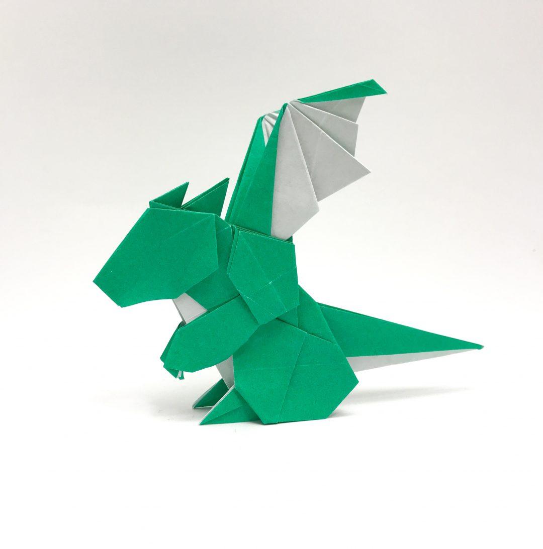 さくBさんによるベビードラゴンの折り紙