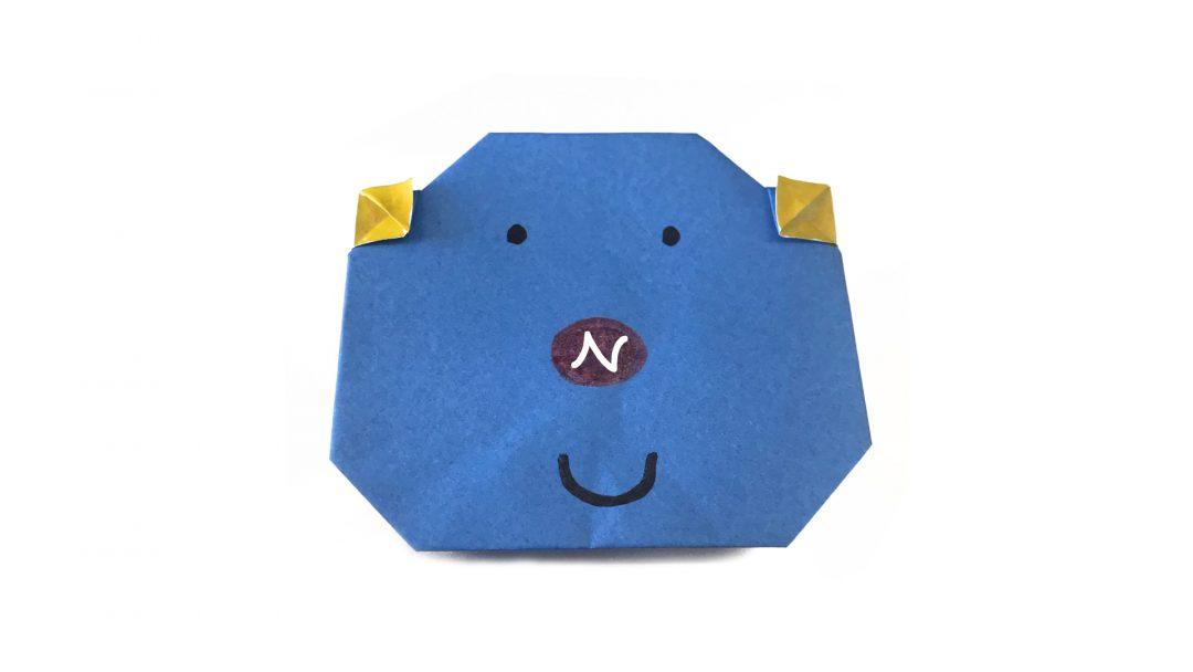 CHU♡BOOさんによるブーパパの折り紙