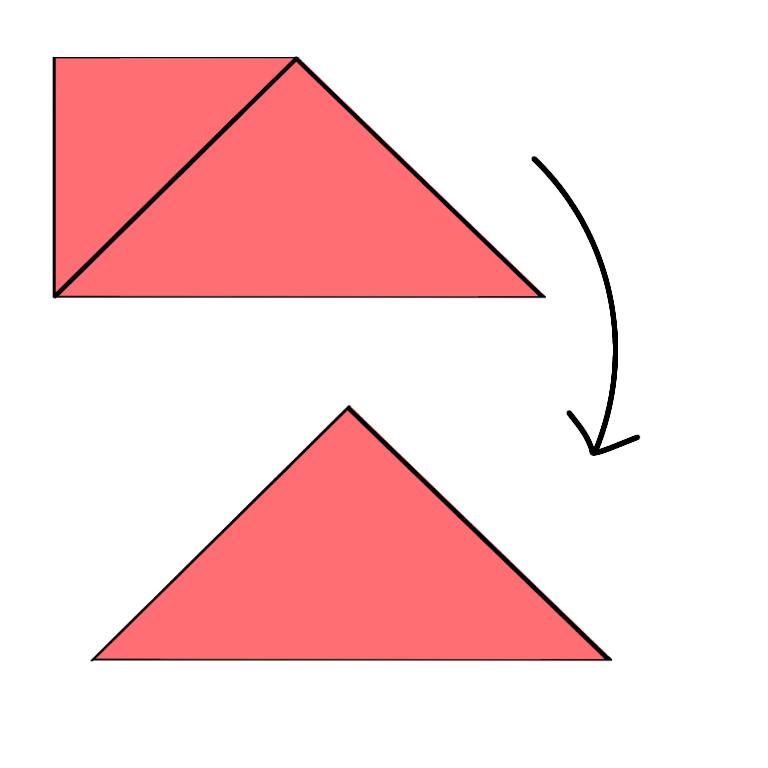⑨うらも同じように折ります。